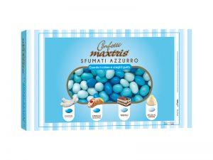 confetto Maxtrix sfumato azzurro
