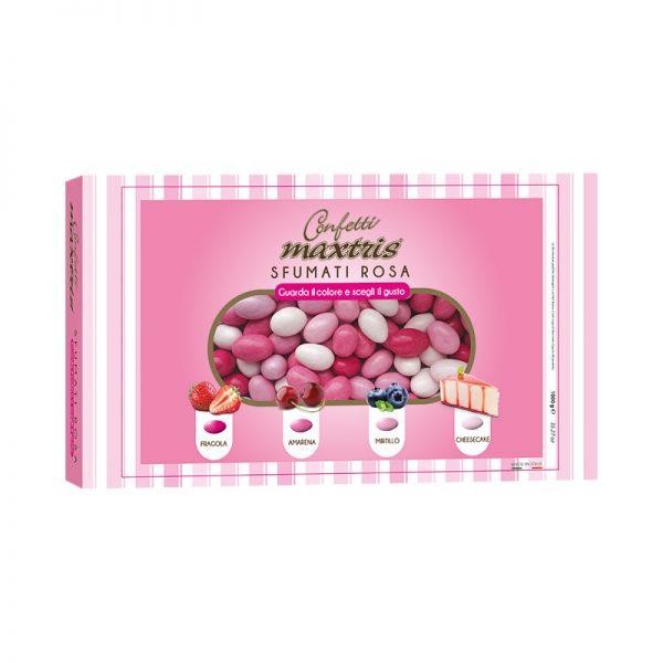 confetto Maxtrix sfumato rosa