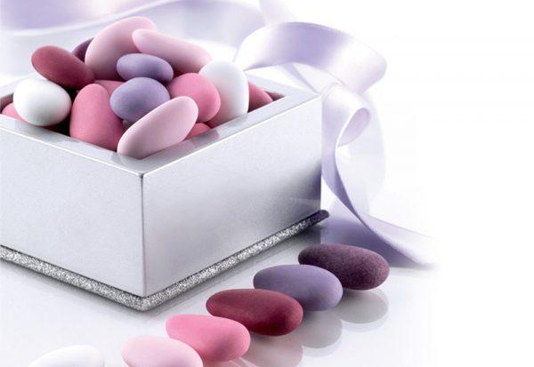 confetti sfumati rosa