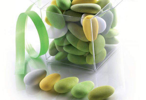 confetti sfumati verdi
