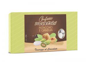 maxtris pistacchio gianduia tenerezze cioccolato