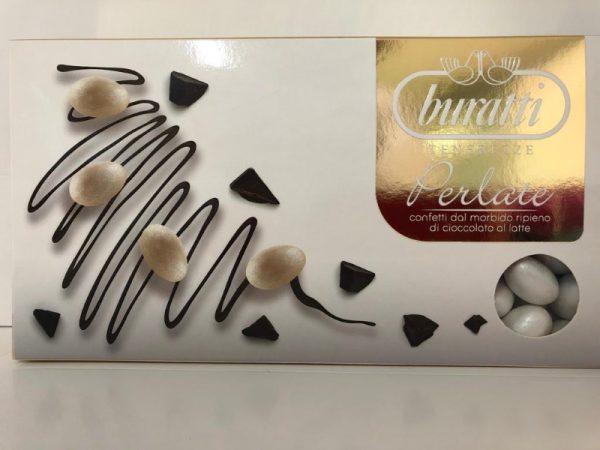 buratti tenerezze perlate cioccolato latte bianco