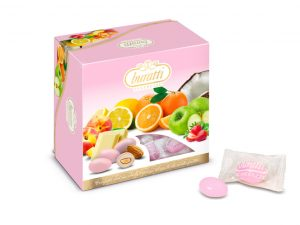 buratti confezioni regalo misto frutta rosa