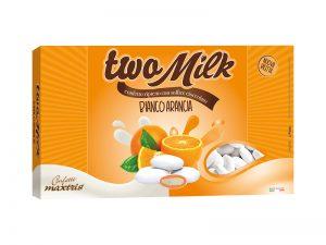 maxtris two milk bianco arancia