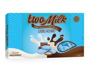 maxtris two milk classico azzurro