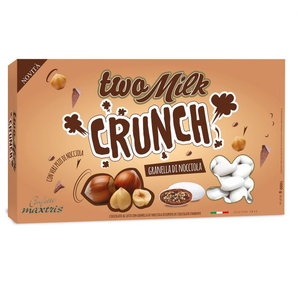maxtris two milk crunch granella nocciola